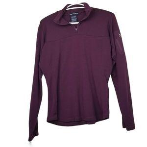 Arc'teryx Wool Blend Quarter Zip Pullover